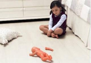 Como a psicose se apresenta na infância.