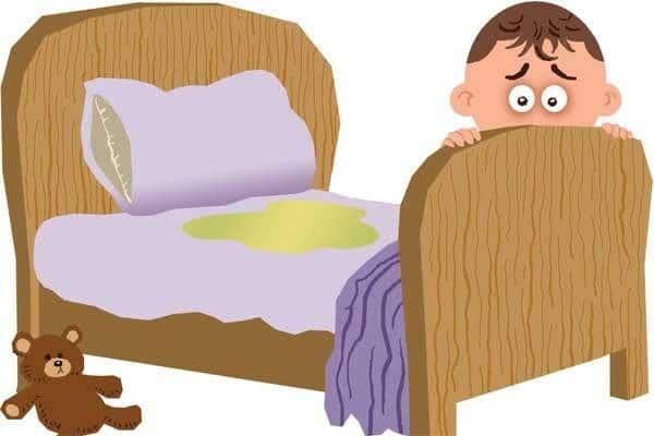 Saiba até quando é normal a criança fazer xixi na cama(Enurese).