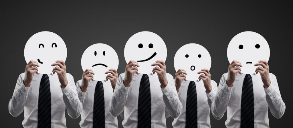 Como encobrimos nossas emoções?