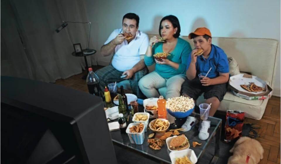 família obesa