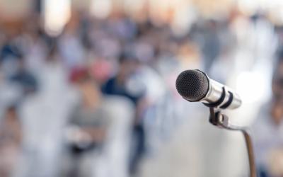 Você tem medo de falar em público?