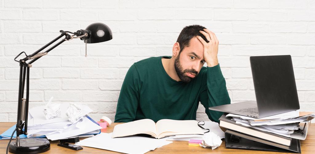 A sindrome de burnout pode aparecer em estudantes