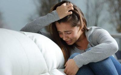 O seu choro é reprimido?